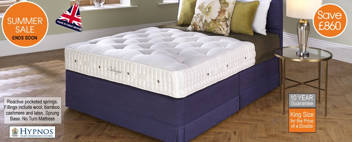 Adagio King Size Bed    RRP £2759    NOW £1899