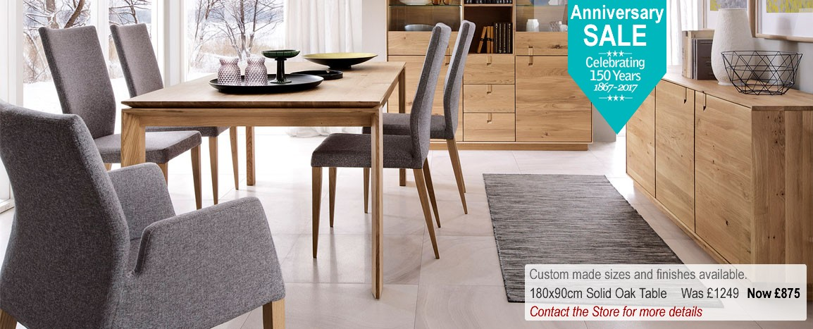 Bowthorpe Ludwik Dining Furniture    Contact the Store