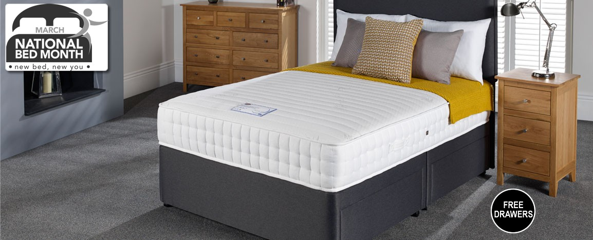 Woodstock Memory Pocket King Size  Was £779   NOW £549