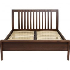 Bosco Bedroom Superking Bed - Dark Wood