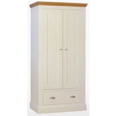 Coelo Bedroom Narrow Ladies Wardrobe