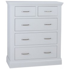 Coelo Bedroom With Painted Tops 3+2 Drawer Chest