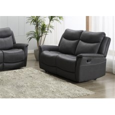 Alberta 2 Seater Manual Recliner Sofa