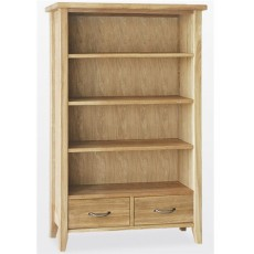 Windsor Dining Bookcase 2 Drawers