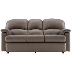 Chloe (Leather) 3 Seater Recliner Sofa Double