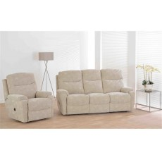 Greenwich 3 Seater Manual Recliner Sofa