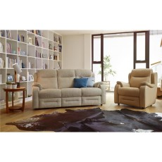 Boston 3 Seater Manual Recliner Sofa