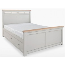Cromwell Bedroom Double Size Solid bed with Storage