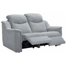 Firth (Fabric) 2 Seater Power Recliner Sofa Double