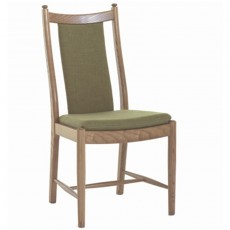 Ercol Windsor Dining Penn Classic Dining Chair with Padded Back