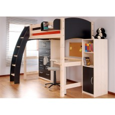 Kids Stuff White High Sleeper Conversion