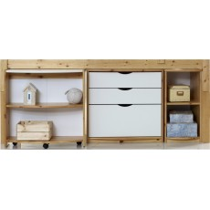 Kids Stuff White Narrow Shelf