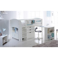 Kids Stuff White Pull Out Desk