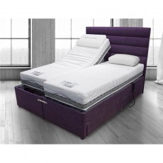 Adjustable 22 Supersoft Electric Adjustable Divan Set with 2 Drawers