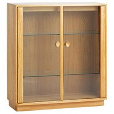 Ercol Windsor Dining Small Display Cabinet