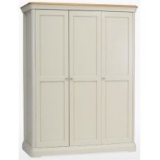 Cromwell Bedroom Express Triple Wardrobe