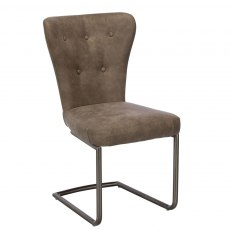 Baker Furniture Chairs Oscar Dining Chair Grey