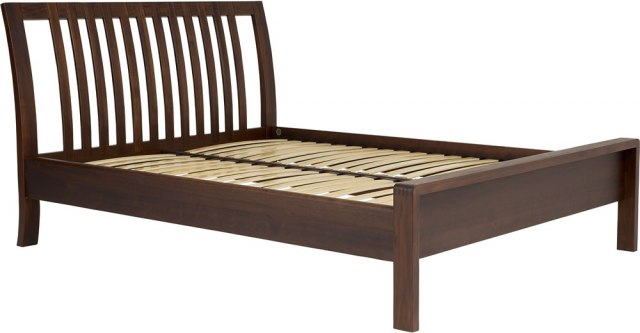 "Bosco Bedroom 4'6"" Bed - Dark Wood"