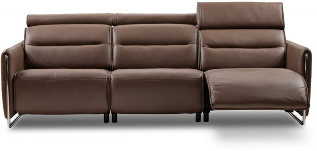 Emily 3 Seater Sofa w/2 power right steel arm
