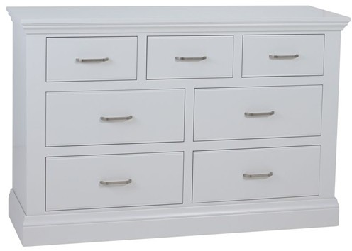 Coelo Bedroom With Painted Tops 4+3 Drawer Chest