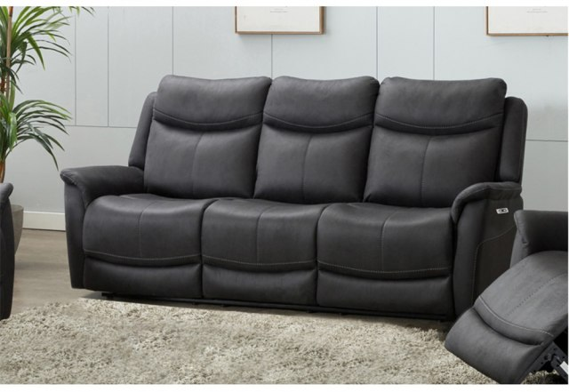 Alberta 3 Seater Electric Recliner Sofa