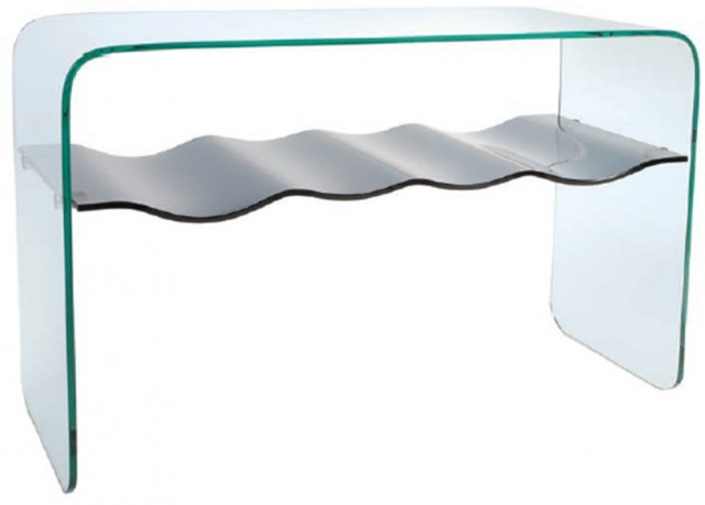 Glass collection Ripple Consol Table
