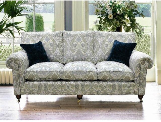 Duresta Beaminster Grand Sofa Polished Leg Fabric Sofas