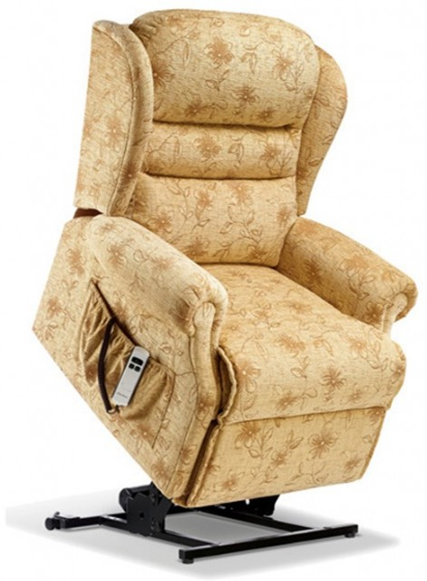 Ashford Leather Royale Electric Lift Recliner - Dual Motor