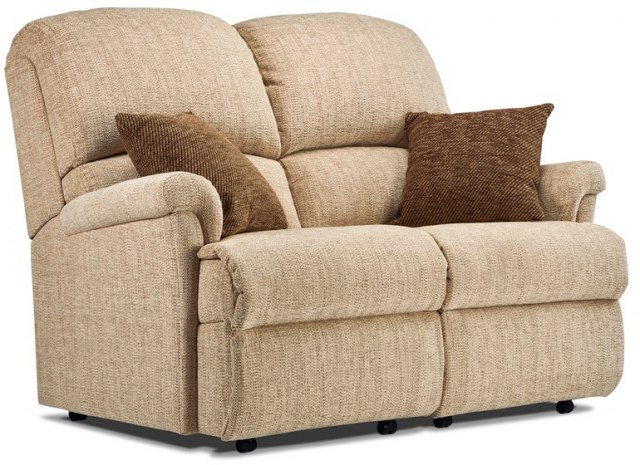 Sherborne Nevada Small 2 Seater Recliner Sofa - Fabric Sofas ...