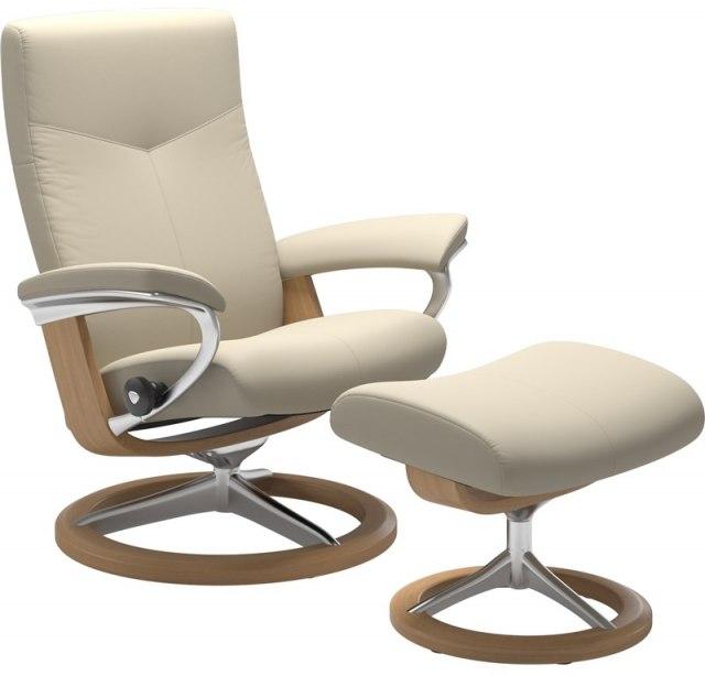 Awesome Stressless Dover Small 1345315 Chair Stool Signature Creativecarmelina Interior Chair Design Creativecarmelinacom