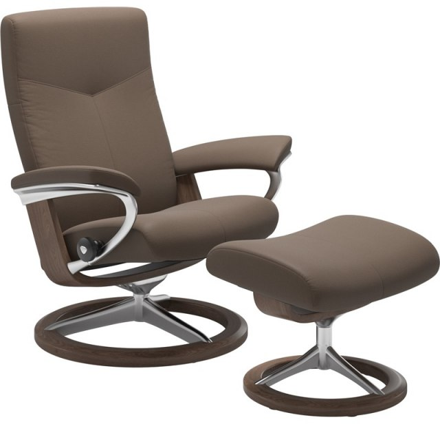 Stressless Dover Small 1345315 Chair - Signature Base - Chairs