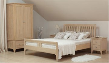 Stag New England Bedroom - Oak