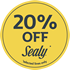 20% OFF Sealy