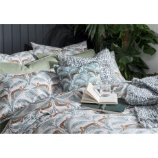Fat Face Lounging Leopards Duvet Set - Single & 1 Standard Pillowcase