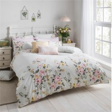 Cath Kidston Vintage Bunch Duvet Set - Double & 2 Pillowcases