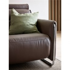 Emily 2 Seater Sofa steel arm