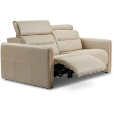 Emily 2 Seater w/2 power wood arm