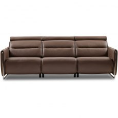 Emily 3 Seater Sofa steel arm