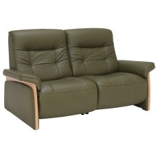Mary 2 Seater w/power right wood arm