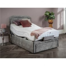 Devonshire Devonshire 4' Head & Foot Adjustable Bed with Drawer & Std Elegance Mattress