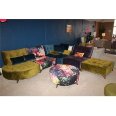 Arianne Store Model Module 1(x2), Corner Module, Chaise Longe, Footstool and Large Round Footstool