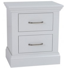 Coelo Bedroom With Painted Tops Large 2 Drawer Bedside