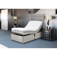 Move Plus Electric Adjustable Divan Set with 2 Drawers Massage and Wireless Remote