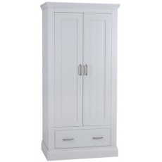 Coelo Bedroom With Painted Tops Narrow Ladies Wardrobe