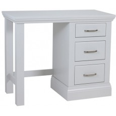 Coelo Bedroom With Painted Tops Single Pedestal Dressing Table