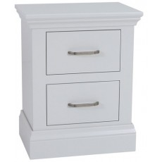 Coelo Bedroom With Painted Tops Small 2 Drawer Bedside