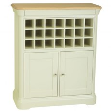 Stag Cromwell Dining Sideboard with wine rack