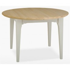 Stag New England Dining - Painted Oak 110/150 Round Extending Table