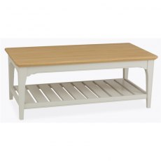 Stag New England Dining - Painted Oak Coffee Table