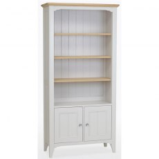 Stag New England Dining - Painted Oak Tall Bookcase